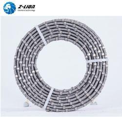 8.3Mm de plastique/bloc de marbre de 9 mm fil diamanté de profilage de la corde de coupe scie