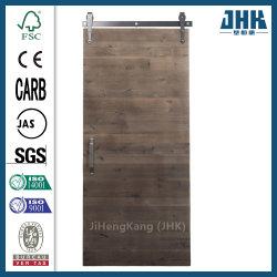 Chapa de madera de nogal contrachapado Jhk Dormitorio moldeado de la puerta del granero