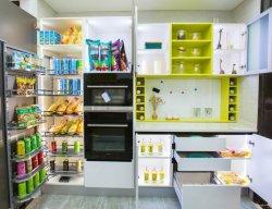 Mobiliário de alumínio Easy-Cleaning Prato e armário com metal de alta qualidade