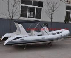 Liya 5.2mの販売のための贅沢で膨脹可能な肋骨のボート