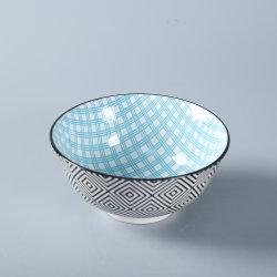 세라믹 패드 프린팅 아침 식사를 위한 포르첼랭 그릇