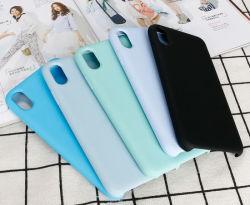 Téléphone mobile en silicone colorées d'origine Protecter Cas d'Apple iPhone X 7 8 Plus