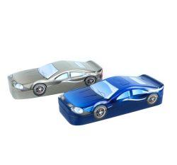 Auto geformten Zinn-Kasten-Kind-Feiertags-Geschenk-Zinn-Kasten kundenspezifisch anfertigen