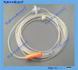 필터 510K 증명서를 가진 PVC 이산화탄소 표본 추출 선