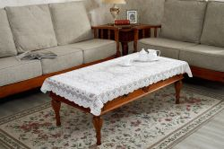 Multi fonctionne de la Dentelle de mobilier et un canapé-Couvercle Chiffon de table