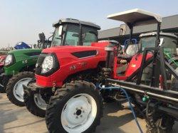 Лучшее качество 60HP 4WD сельскохозяйственный колесный трактор с маркировкой CE/EEC