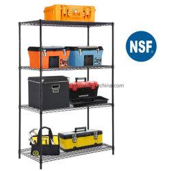 Intermetro 4 яруса хорошо проветриваемом помещении для хранения для тяжелого режима работы для установки в стойку стальной гараж блок стеллажей для хранения