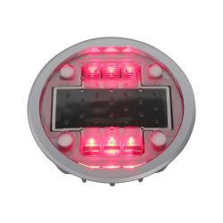 道路注意用の販売ソーラー LED ライトロードサイドドック全体