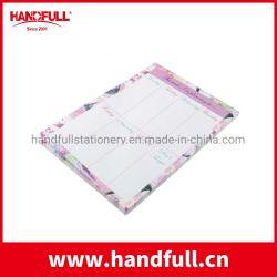 Don magnétique de conception Client Fridge Magnet Memo Pad