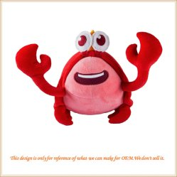 Muñecos de peluche suave de los animales del océano para Boy&Girl Don