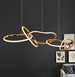 Ronde ring Pendellampen LED-lampen kroonluchters Circle Pendellampen Verlichting Hanger modern