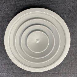 HVAC - белый цвет Круглый потолочный диффузор детали подачи воздуха круглый диффузор