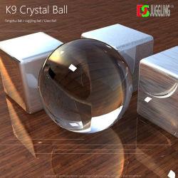 Dsjuggking 매직 60mm 유리 사진 볼 K9 크리스탈 렌즈 볼 장식 볼 좋은 품질의 펑수이 볼, 저글링 볼, 유리 볼, 접촉 볼