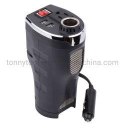 Auto Convertisseur auto voiture alimentation 200W DC 12V à 230V AC convertisseur de couple avec deux ports USB Onde sinusoïdale modifiée