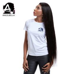 Angelbella Virgen Raw de cierre de cabello pelucas recto seda 250% de densidad peluca cabello humano.