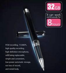 Dispositivo di registrazione di alta qualità penna portatile Design Interview Digital Voice Penna di registrazione