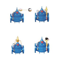 Valvola a sfera idraulica del galleggiante del livello del serbatoio di acqua di controllo di distanza del solenoide