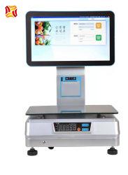 Новые прибывает все в один цифровой Весы кассовых шкалы сенсорный экран Электронного весом POS системы