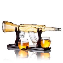 Bouteille de décanter Whisky de qualité supérieure ensembles de flacons en verre vin borosilicaté Carafe dans l'ensemble de barres