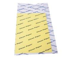 ورق طباعة نظيف A4 لتنظيف الورق تنظيف غرف التفريغ الإلكتروستاتيكي بالألوان خالية من الغبار