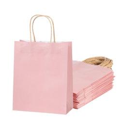 Papier épais durable renforcé mariage un emballage cadeau des sacs pour les clients