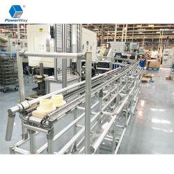 Alumínio personalizadas Perfil de extrusão do tubo magra para a realização de máscaras Rack da Máquina