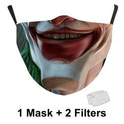 クリエイティブな要素パターン子供用マスクデジタル印刷屋外用ダストプルーフ成人用 フェイスマスク