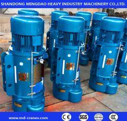 La Chine marque Mingdao 2 tonne 5 TONNE DE 10 TONNES CD1 MD Simple Double vitesse fil d'acier électrique treuil treuil palan à câble pour les grues à faible prix des pièces