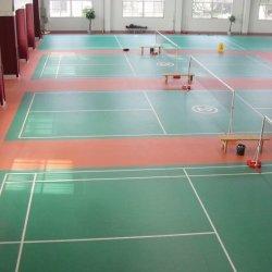 Multilayer Wear Resistant Sports Flooring; PVC Sponge Floor voor Badminton, Basketbal, Tennis, Volleybal, Tafeltennis