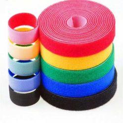 Bunter starker selbstklebender Flausch-Haken und Schleifen-elastisches Band mit Qualität und gutem Preis