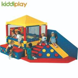 Venta de materiales ecológicos calientes de juguetes de escalada de bloques de espuma suave interior Kids Play Tema