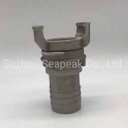 Schacht voor aluminium koppelingsslang met beschermhuls