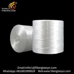 Una buena dispersión de fibra de alta resistencia buena compatibilidad con resina itinerante del Panel de fibra de vidrio