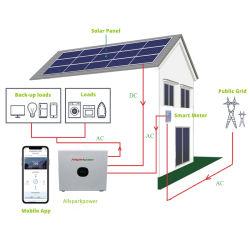 220V 3000W ポータブル太陽光発電発電発電システムを使用しています インバータと MPPT を内蔵した一体型システムです