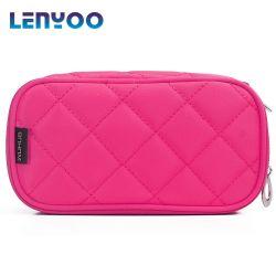 Espelho de nylon Bag Impermeável Diamante geométrica Espelho Saco de lavar o saco de mão