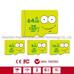Commerce de gros logo imprimé couleur bon marché de la carte mémoire SD TF pour l'original