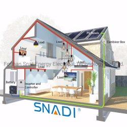 Настраиваемые 5 квт off Grid гибридный инвертор солнечной энергии системы