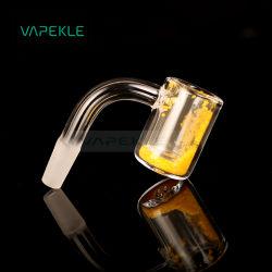 Utensili in cera al quarzo termocromico dabber per tubi in vetro per acqua Rig. DAB
