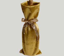 ビロードのワイン・ボトル袋のビロードのワインのパッケージのドローストリング袋