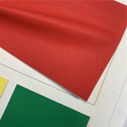 Haute luminosité pour canapé en cuir de PU tissu/canapé en cuir à bille de tissu de l'Ouest