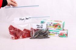 Sacchetto con chiusura a zip in PE M per sacchetto con chiusura a cerniera in plastica Sandiwich Borsa
