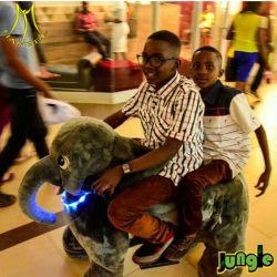 Hansel scooter électrique de l'éléphant d'animaux en peluche dans Kid Mall Kids Ride sur Toy
