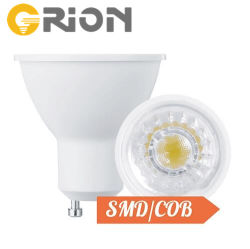 ضوء بيان LED لمصباح GU10 بقوة 6 واط قابل للإضاءة من خلال شاشة LED للمنزل الإضاءة