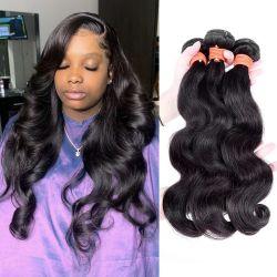 Оптовая торговля 100% натуральные Virgin Wig человеческого волоса дешевые бразильского синтетических Реми прав волосы вьются