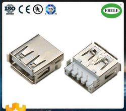 Presa a parete del USB del USB della micro del USB femmina dei connettori mini impermeabile