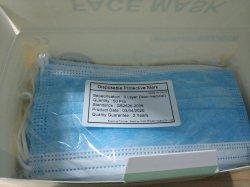 3ply jetables stériles non tissées médicale et chirurgicale des masque facial