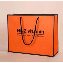 로고 포장 백 아트페이퍼 색상의 맞춤형 디자인 선물 쇼핑 핸드백