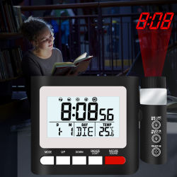 Sveglia della proiezione con la radio di FM ed il caricatore del USB