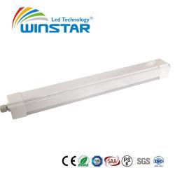 Hohes Lumen 7500lm IP65 lineares 18W 36W 50W Tri-Beweis LED Dielen-Vorrichtungs-Licht