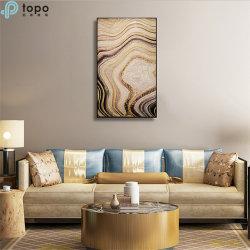 Visualização tridimensional de vidro de parede pintura suspensos para o alpendre/Corredor (MR-YB6-2024)